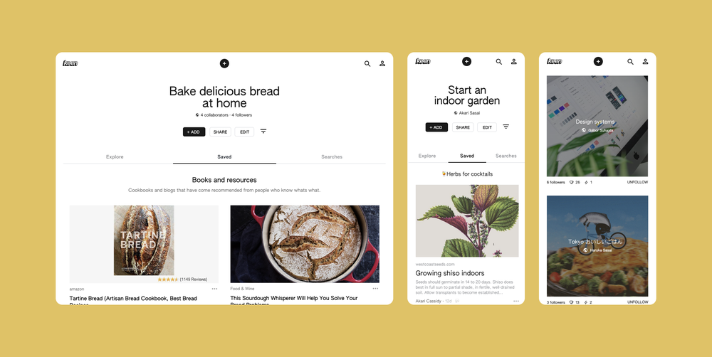 Google Launches Its Own Version Of Pintrest Called Keen